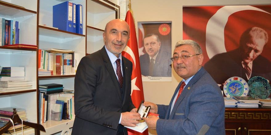 AK Parti Konya İl Başkanı Angıdan ziyaret