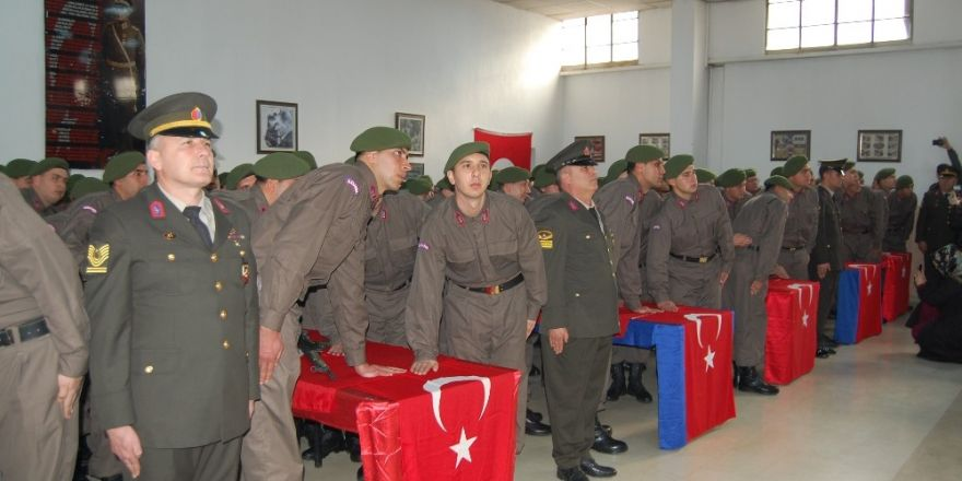 Konya İl Jandarma Komutanlığında yemin töreni heyecanı