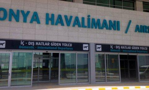 Konya Havalimanına bakanlık desteği