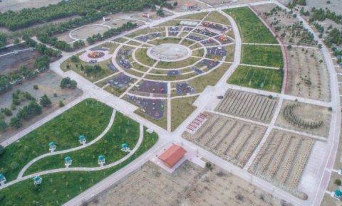 Meram'da yeşil alan çalışmaları