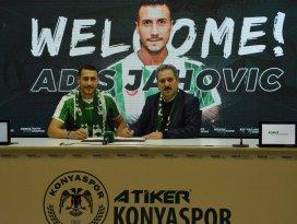 Adis Jahovic resmen Konyaspor'da