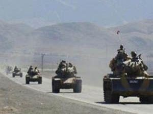 K. Irak sınırında etten duvar