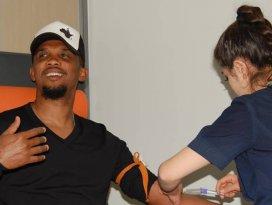 Samuel Etoo sağlık kontrolünden geçti