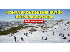 Aladağ, Konya ekonomisine büyük katkı sağlayacak