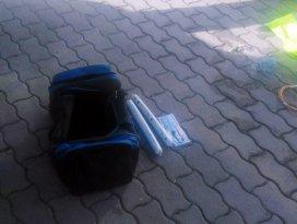 Valizinde dinamitle yakalanan şüpheli tutuklandı