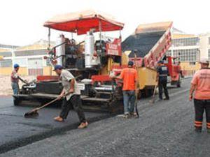 Karatayda sanayi siteleri asfaltlanıyor