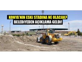 Konyanın eski stadına ne olacak? Başkan Akyürek cevapladı...