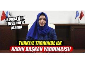 Konyadan Diyanet İşleri Başkan Yardımcılığına atama! Türkiyede ilk...