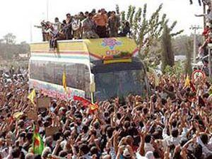 Kandilden gelen PKKlılar geri döndü