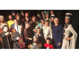 Sultanların kıyafeti Konya'dan