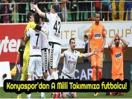 Konyaspordan A Milli Takımımıza futbolcu!