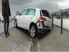 Konyada iki ayrı trafik kazası: 1 yaralı