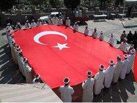 Akşehir'de Zeytin Dalı Harekatına destek programı