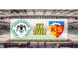 Konyaspor - Kayserispor | İLK 11LER