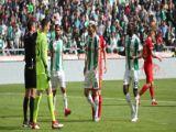 Konyasporda Mehdi Bourabia kırmızı kart gördü