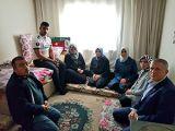 Usta, Afrin gazimizi ziyaret etti