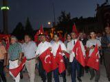 Seydişehir'de 15 temmuz demokrasi ve milli birlik günü