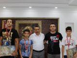 Muay Thai Türkiye şampiyonu Seydişehir'den