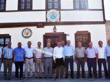 Başkan Altay Karatay Muhtarlar Derneğini Ziyaret Etti