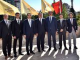Tacikistan Büyükelçisi Altay'ı ziyaret etti