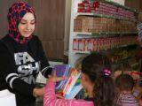 Meram Belediyesinden kırtasiye yardımı