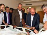 Başkan Pekyatırmacıdan hastalara ziyaret