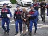 Jandarma Konyadaki kablo hırsızlarını yakaladı