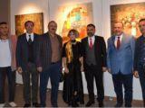 'Renksaz - Yolcu' Resim Sergisi, sanatseverlerle buluştu