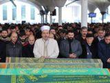 Tren kazasında hayatını kaybeden Tahsin Ertaş defnedildi
