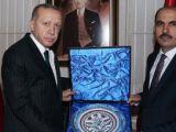 Erdoğan, Uğur İbrahim Altayı kabul etti