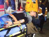 Konyada minibüsten ateş açıldı, 2 kişi yaralandı