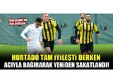Konyasporda flaş gelişme...Hurtado tam iyileşti derken yeniden sakatlandı!