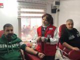 Nalçacılılar'dan Kızılay'a destek