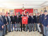 Başkan Altay gaziler ve şehit ailelerini ziyaret etti