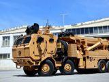 Zırhlı askeri araçların cankurtaranı kışla yolunda