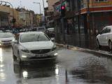 Karapınarda yağmur etkili oldu