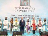 KTO Karatay Üniversitesinde mezuniyet coşkusu yaşandı