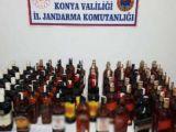 Konyada sahte içki operasyonu: 1 gözaltı