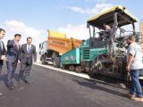 Başkan Kılca, yol asfaltlama çalışmalarını inceledi