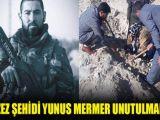 Azez şehidi Yunus Mermer için fidan dikildi