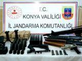 Konyada ruhsatsız silah operasyonu: 1 gözaltı