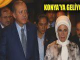 Emine Erdoğan Konyaya geliyor