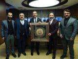 Dursun'dan Kasapoğlu'na Ziyaret