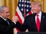 ABD Başkanı Trump sözde Orta Doğu barış planını açıkladı