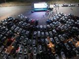 Konyada salgını unutturacak arabalı sinema etkinliği