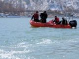 Su altı arama- kurtarma ekibinden nefes kesen eğitim tatbikatı