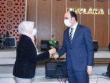 """Başkan Altay 942 kadın çalışma arkadaşımızla şehrimize hizmet ediyoruz"""""""