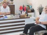 KGC Başkanı Özdemir'den Yeni Haber'e ziyaret