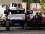 Polis zırhlı aracına roketatarlı saldırı