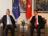 Davutoğlu ile Juncker vizeyi görüştü